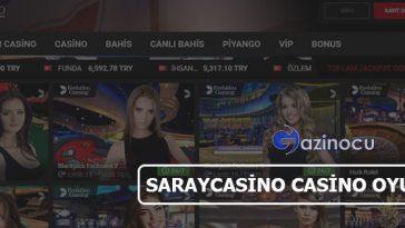 Saraycasino Casino Oyun Seçenekleri