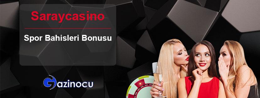 Saraycasino Spor Bahisleri Hoşgeldin Bonusu